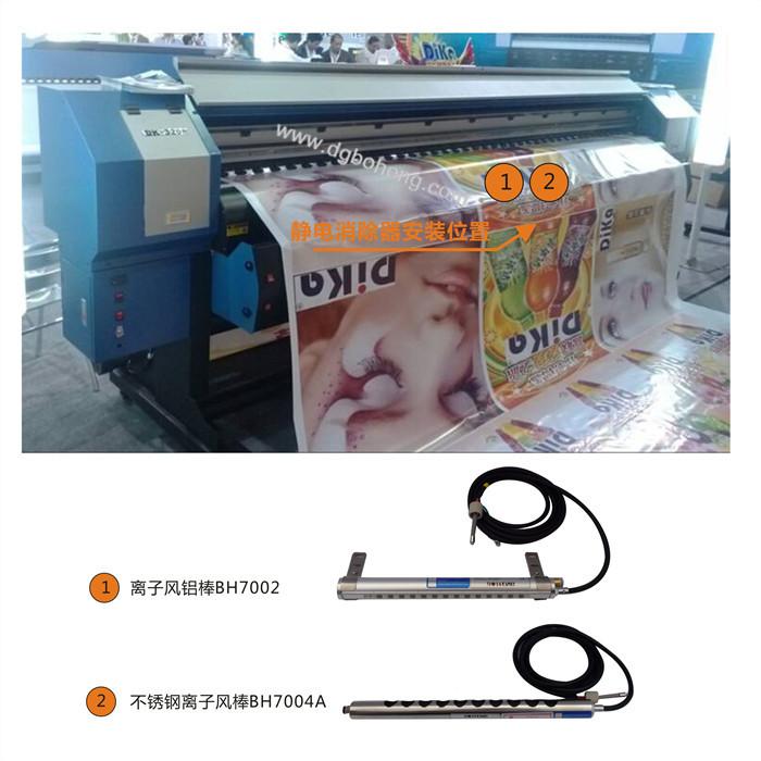 喷默印刷机静电消除